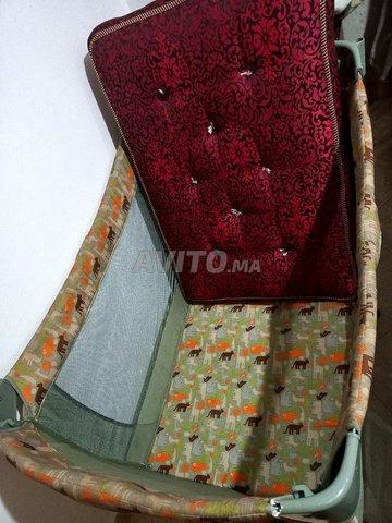Lit parapluie avec matelas - 5