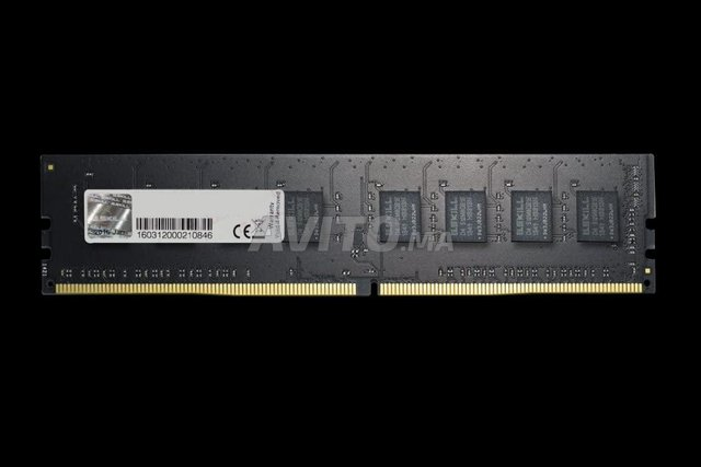 RAM G.SKILL VALUE 8 GO DDR4 2400 MHZ presque neuf. - 1