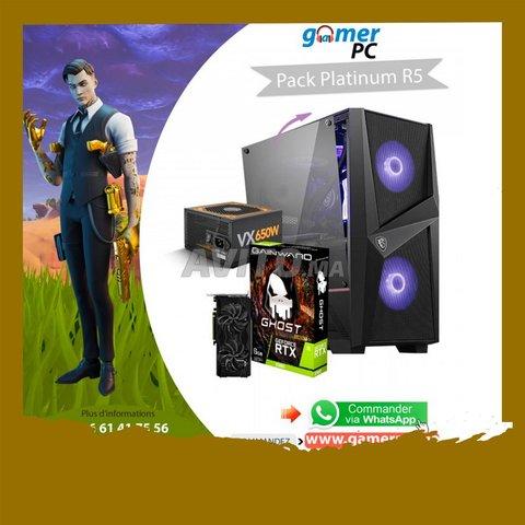 Pack Platinum R5  PC Gamer Ryzen 5 2600X  RTX 2060 - 1