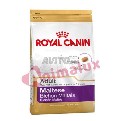Croquettes pour maltesse adult 1.5kg - 1