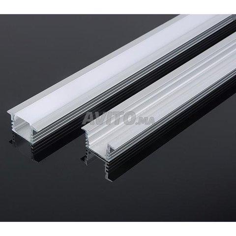Encastrable LED Profilé aluminium 1m 2m - 1