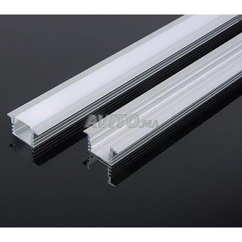 Encastrable LED Profilé aluminium 1m 2m - 3