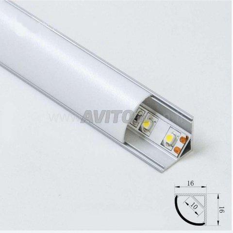 BRITISH  LED Profilé LED aluminium apparent 2m - 1