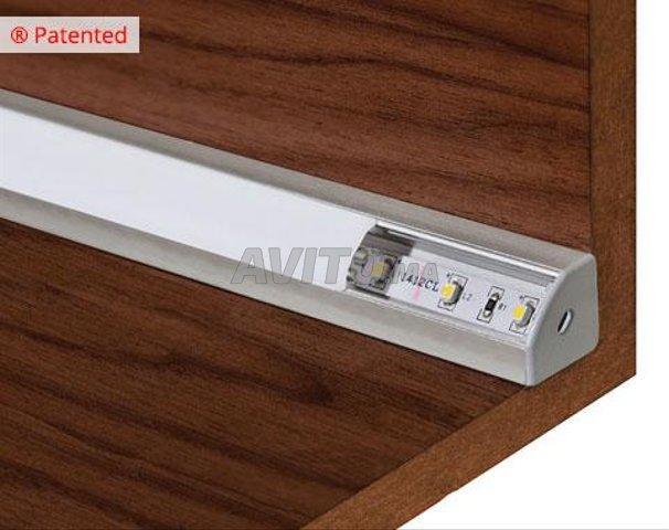 BRITISH  LED Profilé LED aluminium apparent 2m - 2