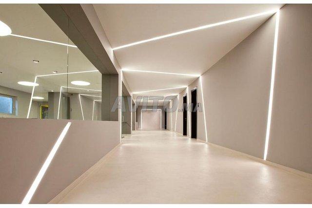 BRITISH  LED Profilé LED aluminium apparent 2m - 3