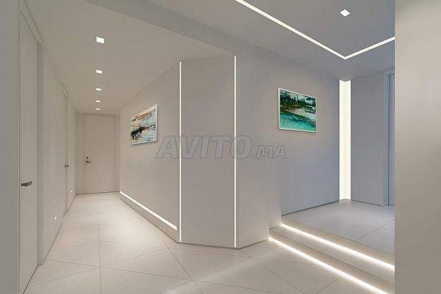 BRITISH  LED Profilé LED aluminium apparent 2m - 4