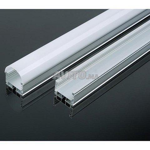 KIT Profilé LED aluminium apparent 1m 2m - 1