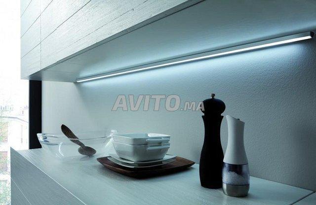 KIT Profilé LED aluminium apparent 1m 2m - 3