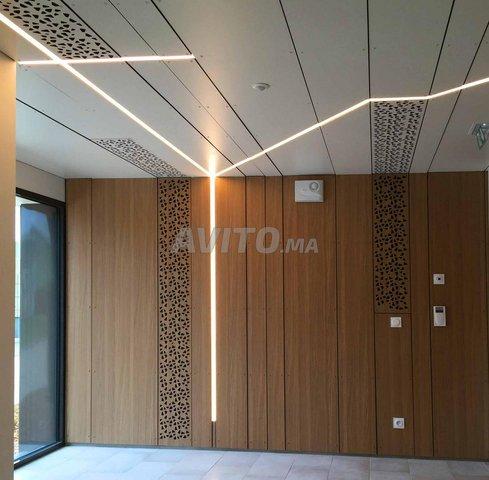 KIT Profilé LED aluminium apparent 1m 2m - 5