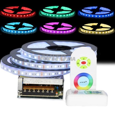 RUBAN LED 14.4W/M 24V 5M  / HDA RIS  RGBW - 3