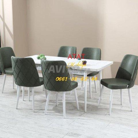 Tables et chaises pour salle à manger (TURK) - 4