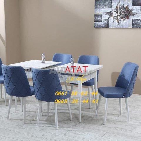 Tables et chaises pour salle à manger (TURK) - 3