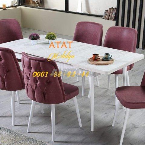 Tables et chaises pour salle à manger (TURK) - 6