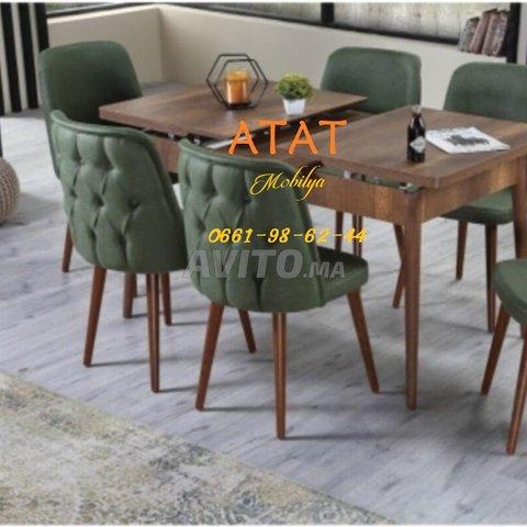Tables et chaises pour salle à manger (TURK) - 5