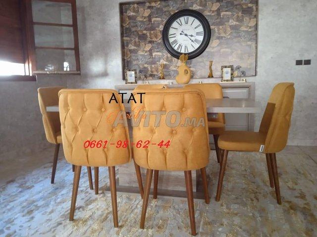 Tables et chaises pour salle à manger (TURK) - 7