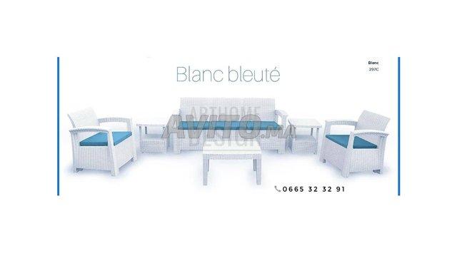 Salon pour terrasse 5 places  - 2