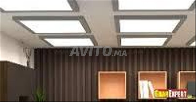 LED Panel carré 60*60  48W Blanc FROID - 6