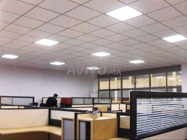 LED Panel carré 60*60  48W Blanc FROID - 2