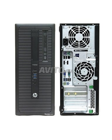 HP ProDesk 600 Core i5 Gen 4 Ram 8GB HDD 500GB  - 6