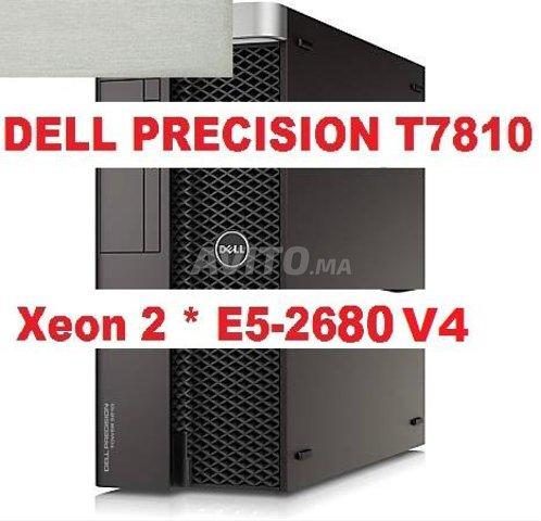 STATION Dell T7810 2*E5-2680 V4/ K2200. 4GO - 1