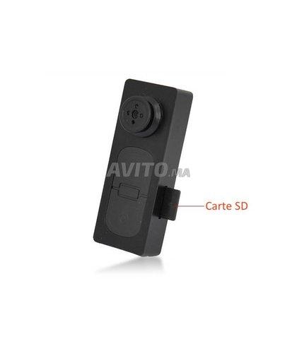 Bouton de chemise caméra espion HD - 4
