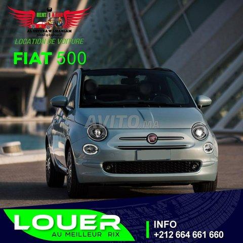 Location de voiture Fiat 500 2021 - 1