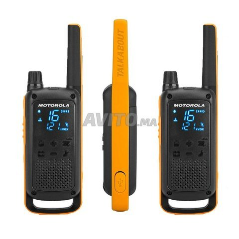 Radio Motorola T82 Extreme - 3