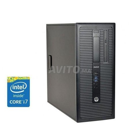 HP 600 g1 Tour i7-4790k  8gb 500gb - 128gb ssd - 1