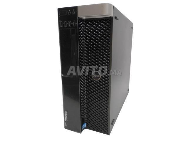 Dell  T7810/Xeon 2* E5-2630 v3/  GTX 1660. 6Go - 1