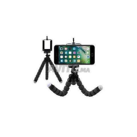 Trépied Flexible Support Réglable Selfie 360 deg - 4