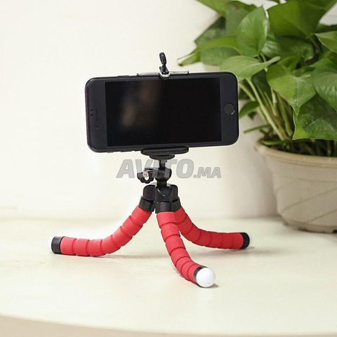 Trépied Flexible Support Réglable Selfie 360 deg - 1