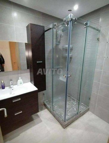 paroi de douche cabine verre trempé - 1