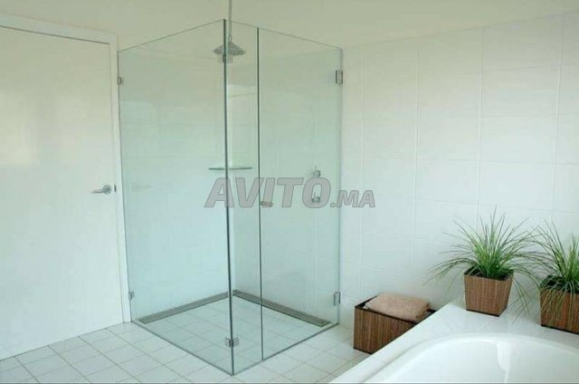 paroi de douche cabine verre trempé - 4