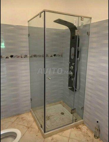 paroi de douche cabine verre trempé - 6