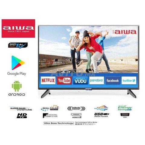 TV Aiwa 32P Smart TV Rapide Récepteur TNT intégré  - 1