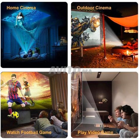 Projecteur 1080P Full HD Smart Wifi Android - 2