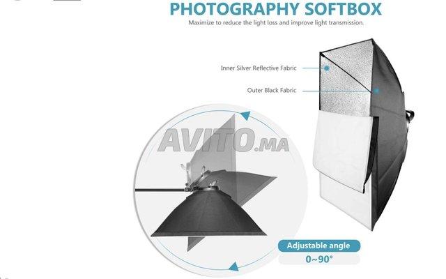 Kit Softbox Led Bi-couleur - 4