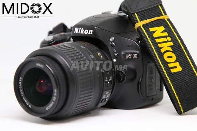 Nikon D5100 18-55mm Magasin Midox SHOP à maarif - 1