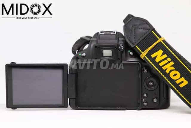 Nikon D5100 18-55mm Magasin Midox SHOP à maarif - 2
