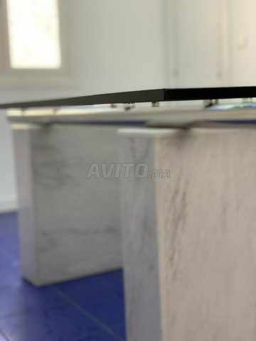 Table en verre de design Italien  - 4