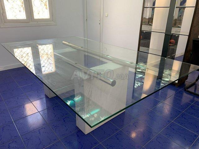 Table en verre de design Italien  - 2