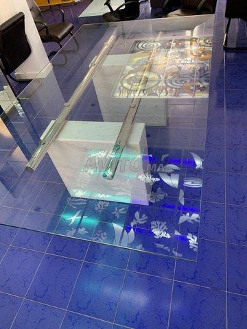 Table en verre de design Italien  - 1