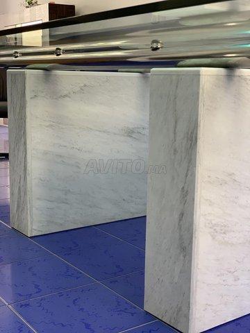 Table en verre de design Italien  - 5