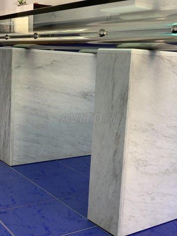 Table en verre de design Italien  - 6
