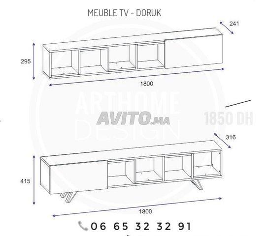 ENSEMBLE DE Meuble TV 180 cm  - 2