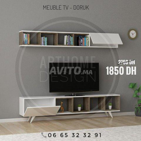 ENSEMBLE DE Meuble TV 180 cm  - 1