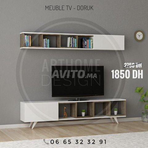 ENSEMBLE DE Meuble TV 180 cm  - 3