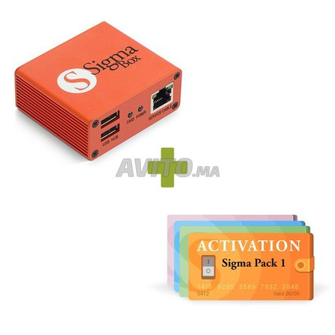 boitat flash decodage z3x pro sigma active pack - 1