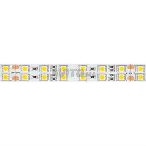 Ruban LED 24V DC 120LED/m 5m IP20 Blanc - 4