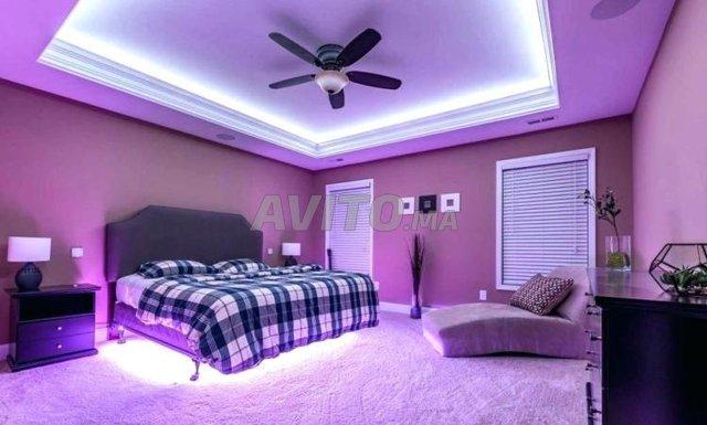Ruban LED 5m 5050 étanche RGB 14W/m - 2